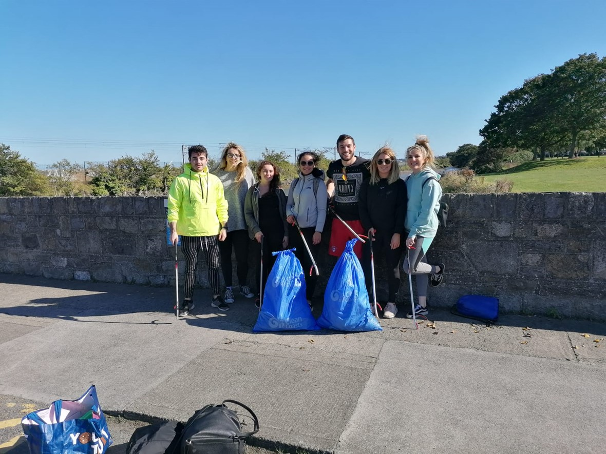 Big beach clean-up