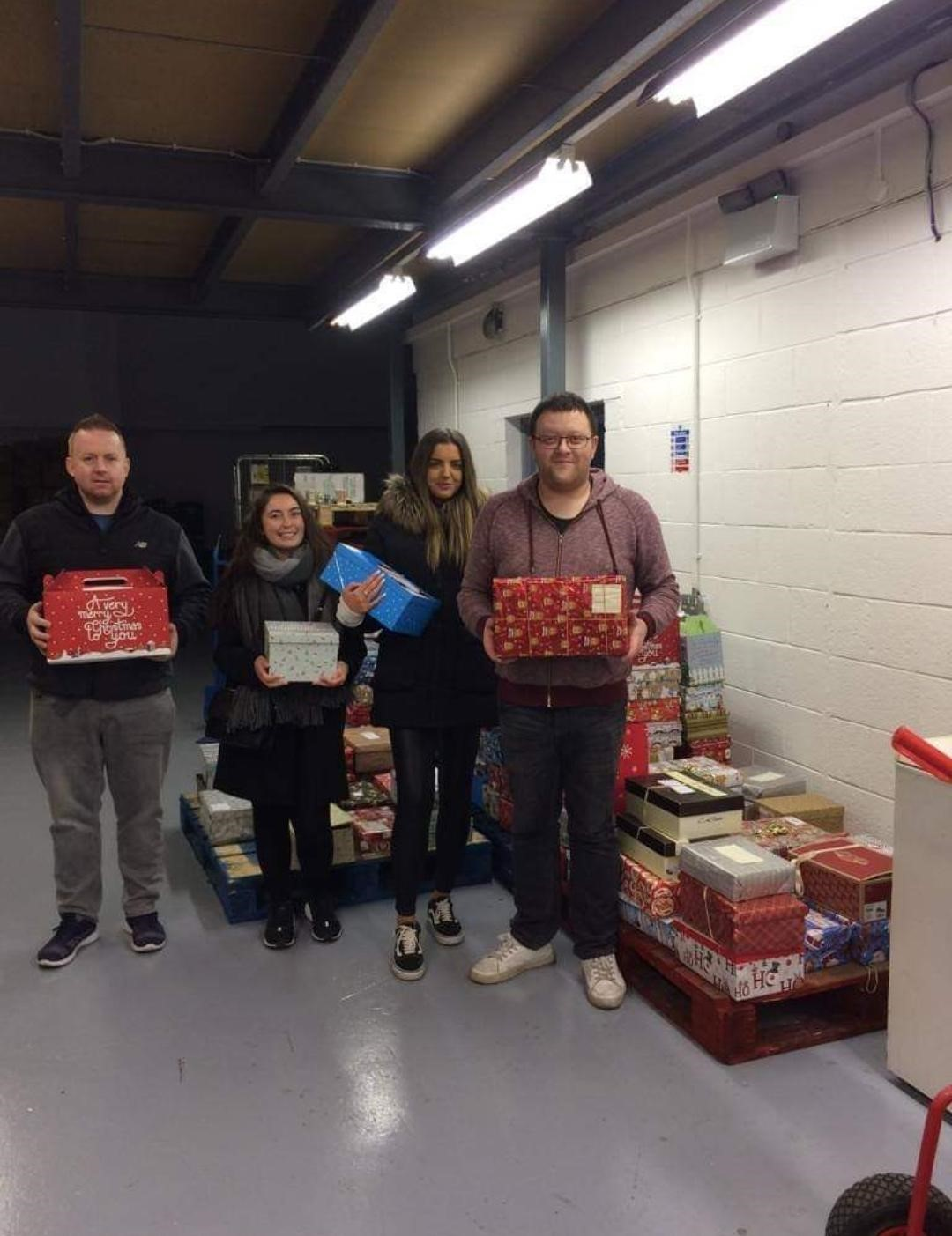 Warehouse Day with local charity partner